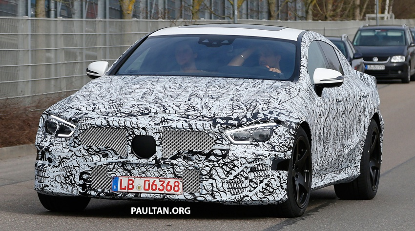 SPYSHOTS: Mercedes-AMG GT four-door seen testing Image #631528
