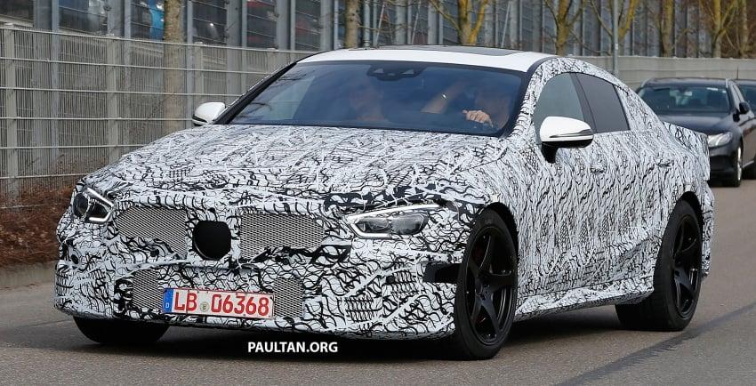 SPYSHOTS: Mercedes-AMG GT four-door seen testing Image #631529