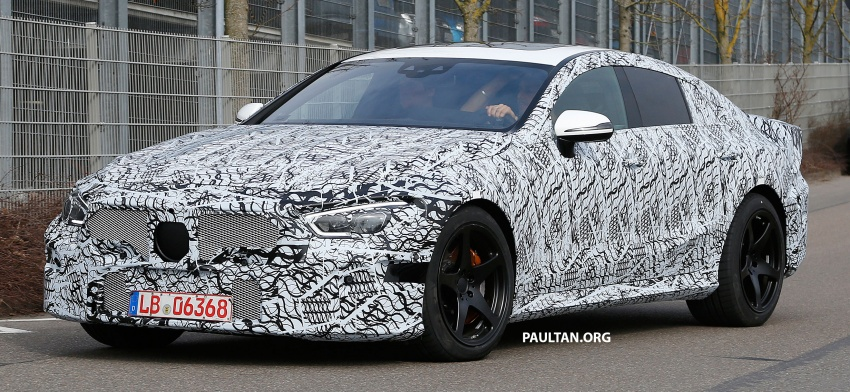 SPYSHOTS: Mercedes-AMG GT four-door seen testing Image #631530