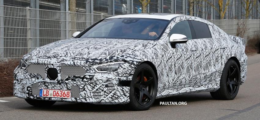 SPYSHOTS: Mercedes-AMG GT four-door seen testing Image #631530