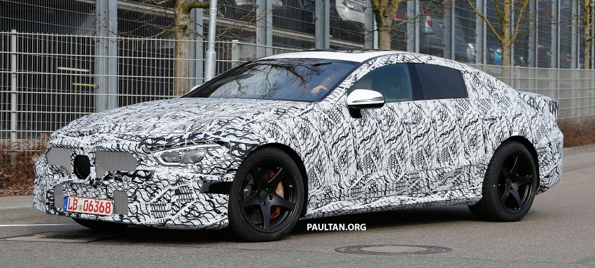 SPYSHOTS: Mercedes-AMG GT four-door seen testing Image #631531