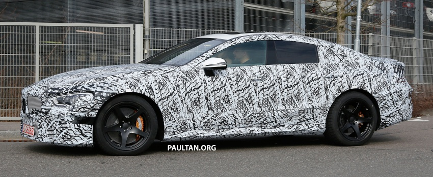 SPYSHOTS: Mercedes-AMG GT four-door seen testing Image #631532