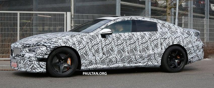 SPYSHOTS: Mercedes-AMG GT four-door seen testing Image #631532