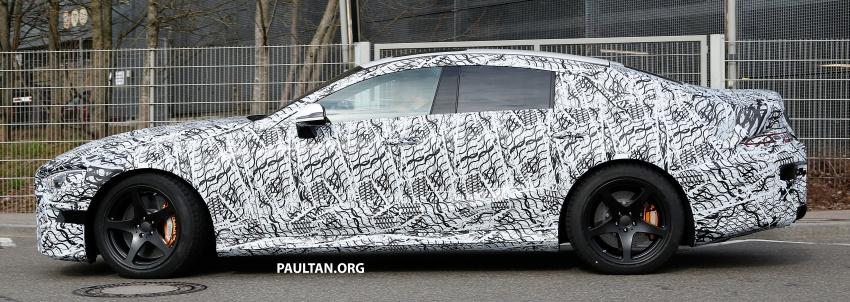 SPYSHOTS: Mercedes-AMG GT four-door seen testing Image #631533