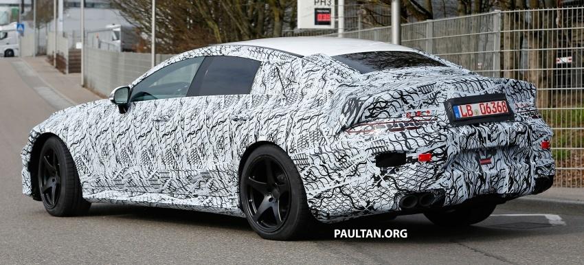SPYSHOT: Mercedes-AMG GT empat pintu kini diuji Image #631808