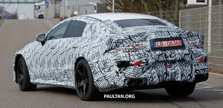 SPYSHOTS: Mercedes-AMG GT four-door seen testing Image #631538