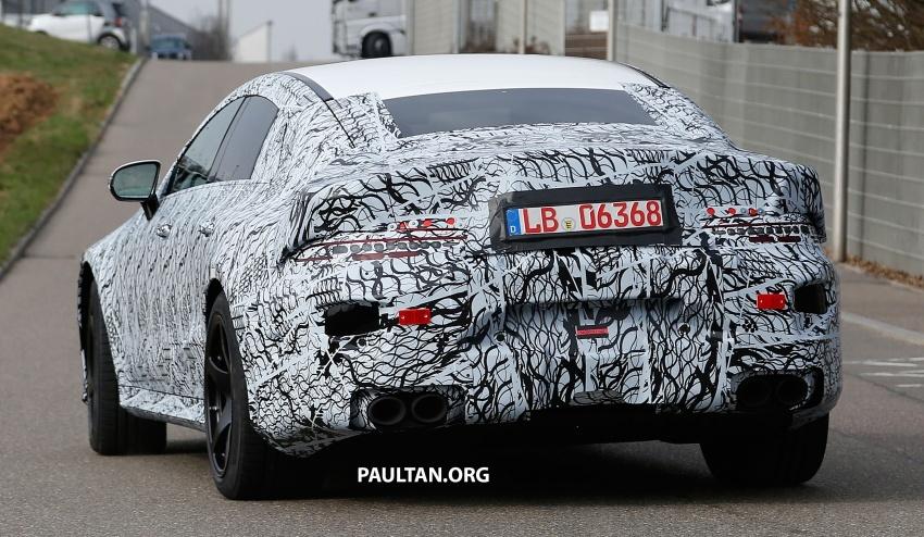 SPYSHOT: Mercedes-AMG GT empat pintu kini diuji Image #631806