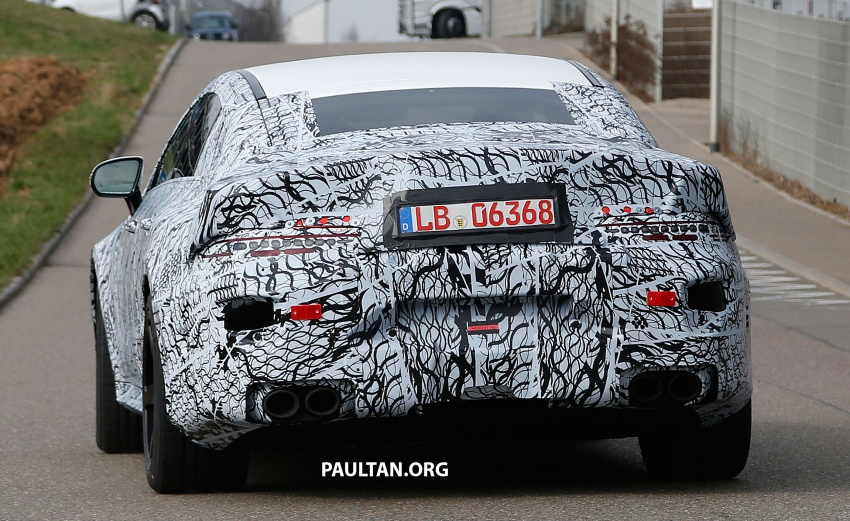 SPYSHOTS: Mercedes-AMG GT four-door seen testing Image #631540