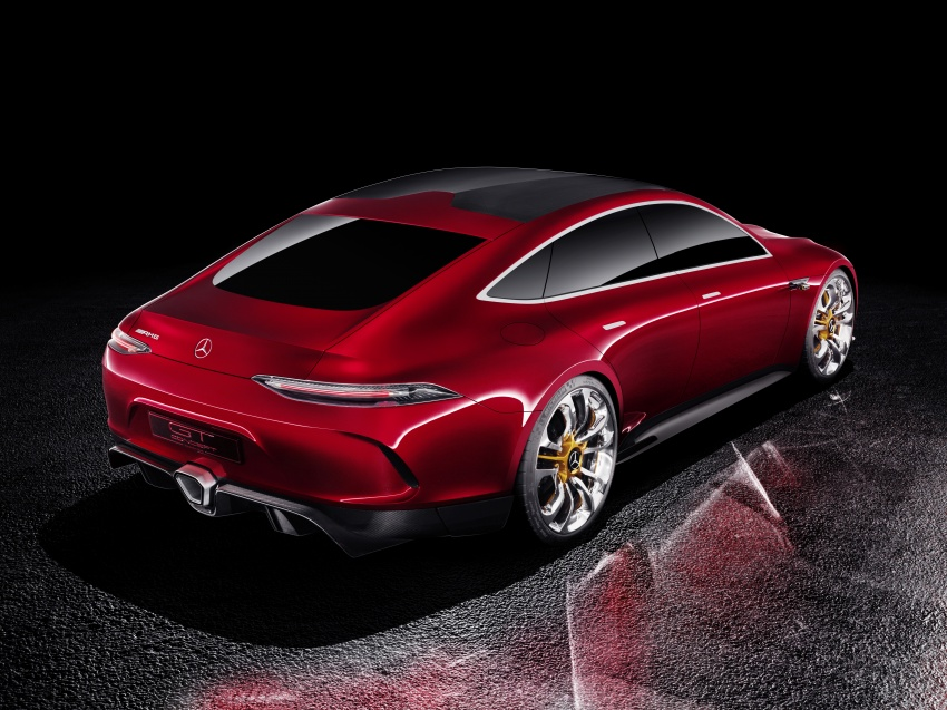 Mercedes-AMG GT Concept – four-door sports car gets 815 hp; 0 to 100 km/h in 'less than three seconds' Image #625690