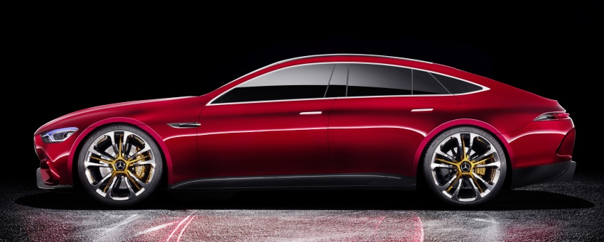 Mercedes-AMG GT Concept – four-door sports car gets 815 hp; 0 to 100 km/h in 'less than three seconds' Image #625698