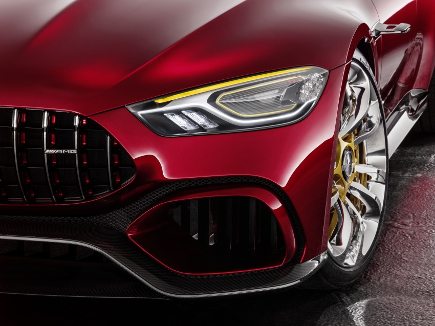 Mercedes-AMG GT Concept – four-door sports car gets 815 hp; 0 to 100 km/h in 'less than three seconds' Image #625703
