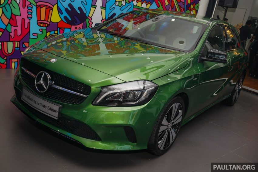 Mercedes-Benz A200 Activity Edition: 30 only, RM206k Image #628409