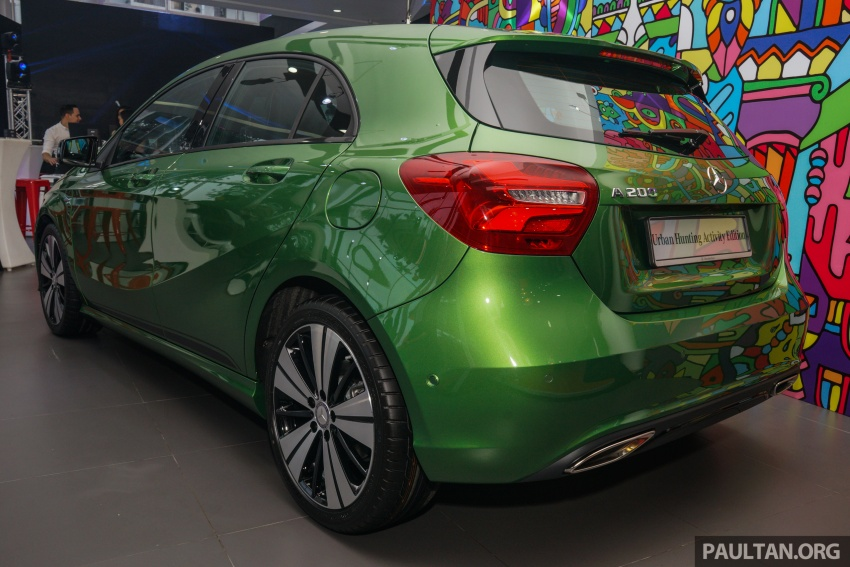Mercedes-Benz A200 Activity Edition: 30 only, RM206k Image #628410