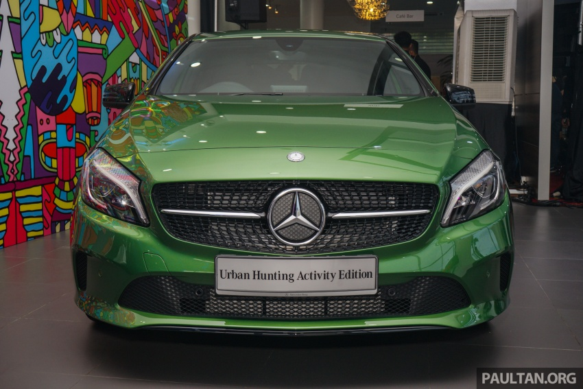 Mercedes-Benz A200 Activity Edition: 30 only, RM206k Image #628411