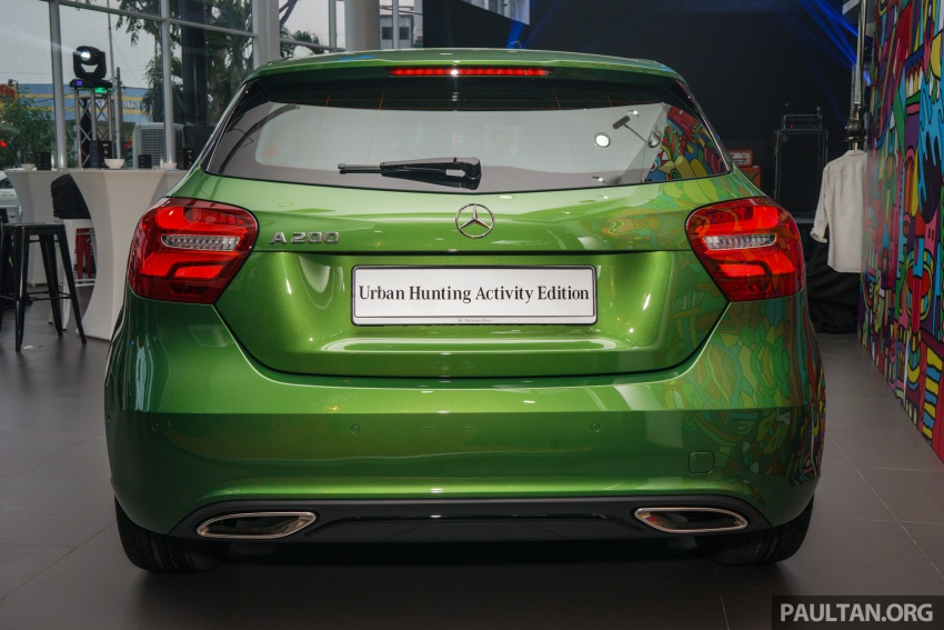 Mercedes-Benz A200 Activity Edition: 30 only, RM206k Image #628413