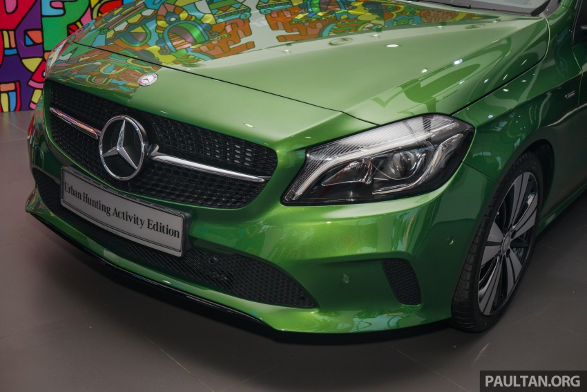 Mercedes-Benz A200 Activity Edition: 30 only, RM206k Image #628414