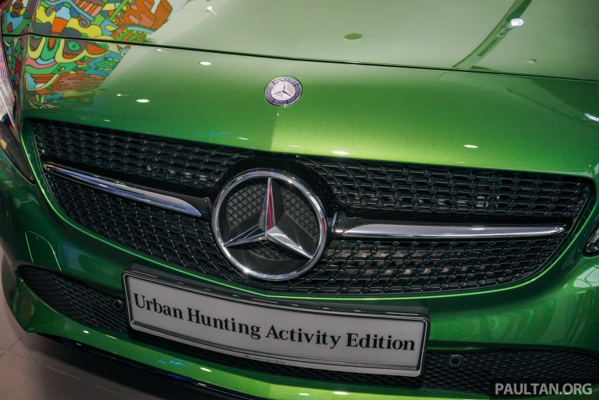 Mercedes-Benz A200 Activity Edition: 30 only, RM206k Image #628416