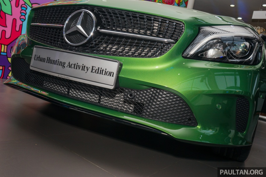 Mercedes-Benz A200 Activity Edition: 30 only, RM206k Image #628417