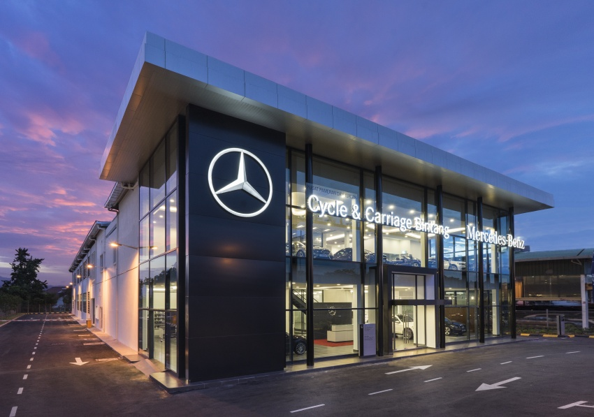 Mercedes-Benz Malaysia together with Cycle & Carriage Bintang launches new Cheras Autohaus Image #624631