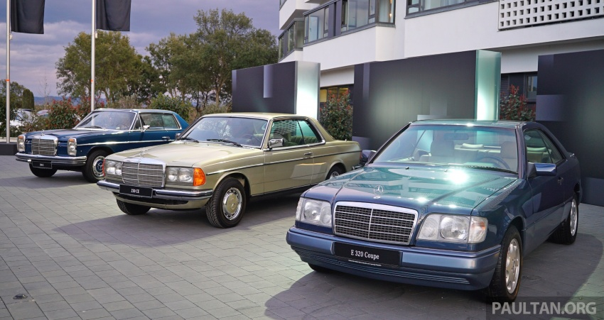 GALLERY: Mercedes-Benz E-Class Coupe through the years – W114, C123, C124, C208, C209, C207 and C238 Image #628071