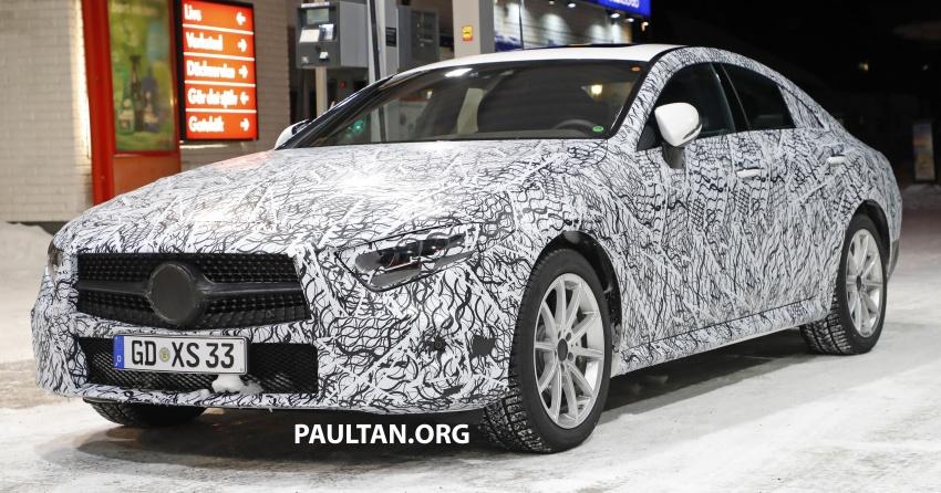 SPIED: Next-gen Mercedes-Benz CLS – interior seen Image #627512
