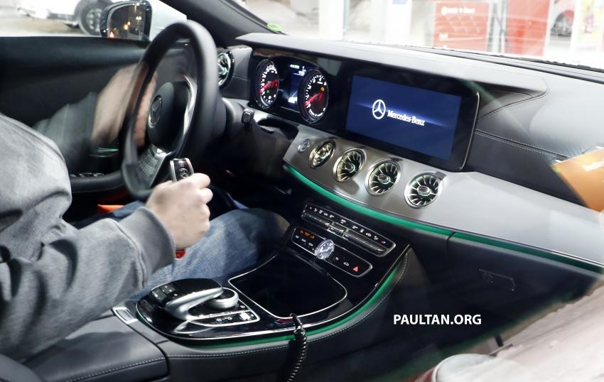 SPIED: Next-gen Mercedes-Benz CLS – interior seen Image #627521
