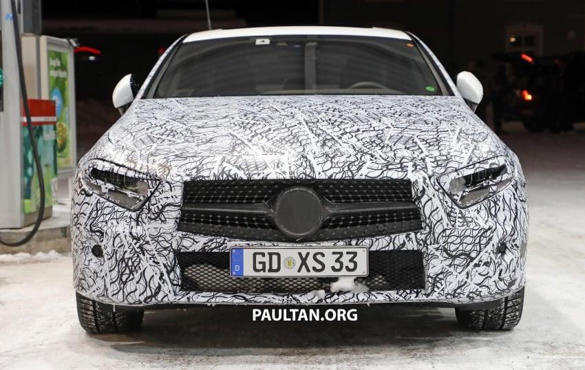 SPIED: Next-gen Mercedes-Benz CLS – interior seen Image #627514