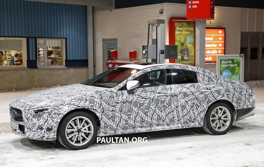 SPIED: Next-gen Mercedes-Benz CLS – interior seen Image #627515