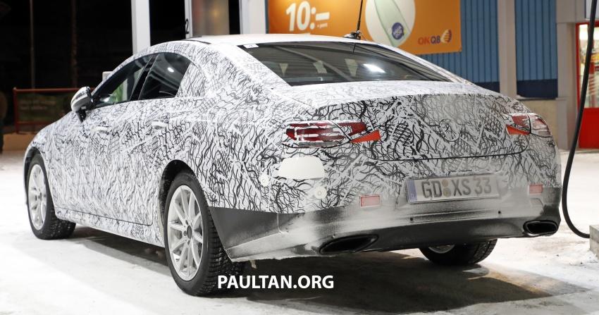 SPIED: Next-gen Mercedes-Benz CLS – interior seen Image #627518