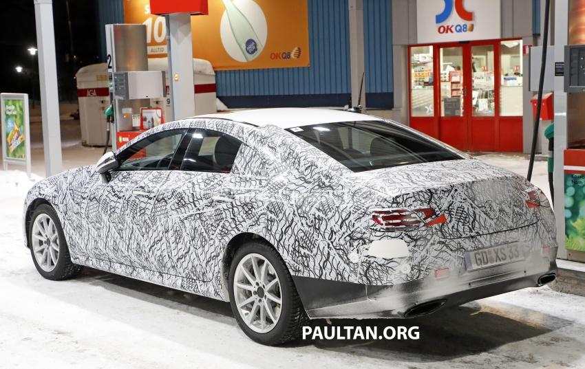 SPIED: Next-gen Mercedes-Benz CLS – interior seen Image #627520
