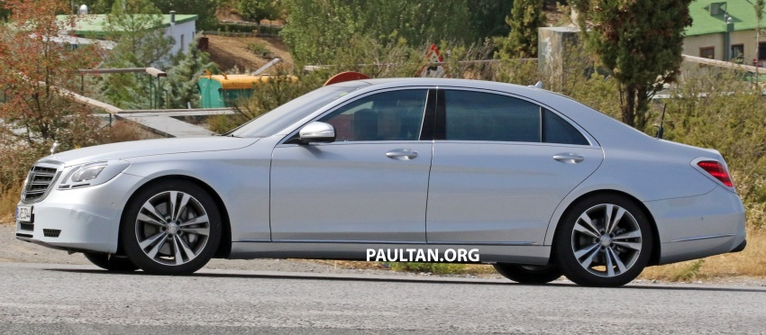 W222 Mercedes-Benz S-Class facelift to debut in April Image #632075