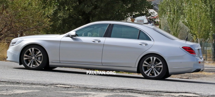 W222 Mercedes-Benz S-Class facelift to debut in April Image #632074