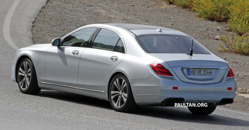 W222 Mercedes-Benz S-Class facelift to debut in April Image #632073