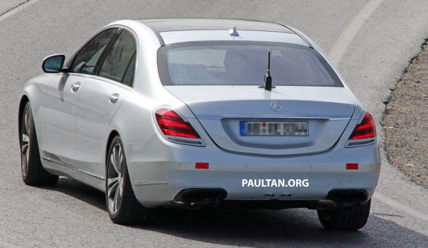 W222 Mercedes-Benz S-Class facelift to debut in April Image #632077