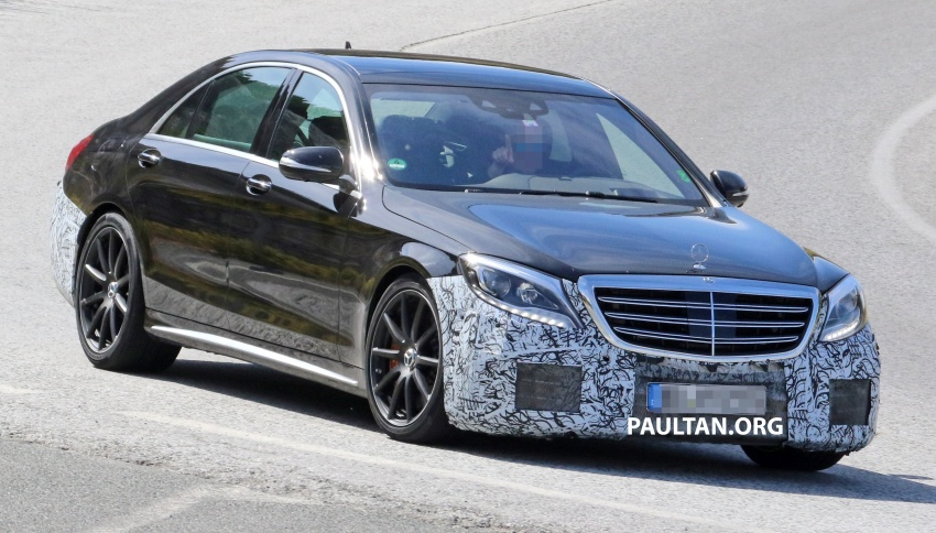 W222 Mercedes-Benz S-Class facelift to debut in April Image #632072