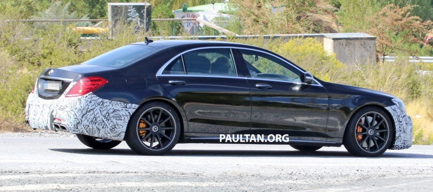 W222 Mercedes-Benz S-Class facelift to debut in April Image #632070