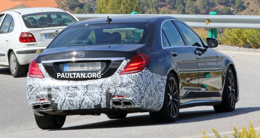 W222 Mercedes-Benz S-Class facelift to debut in April Image #632069