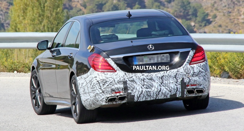 W222 Mercedes-Benz S-Class facelift to debut in April Image #632068