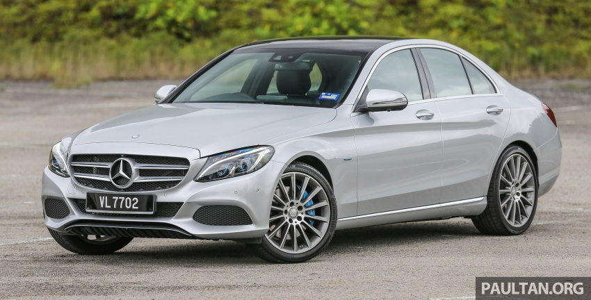 DRIVEN: W205 Mercedes-Benz C350e plug-in hybrid – going it clean and green in this electric machine Image #631964