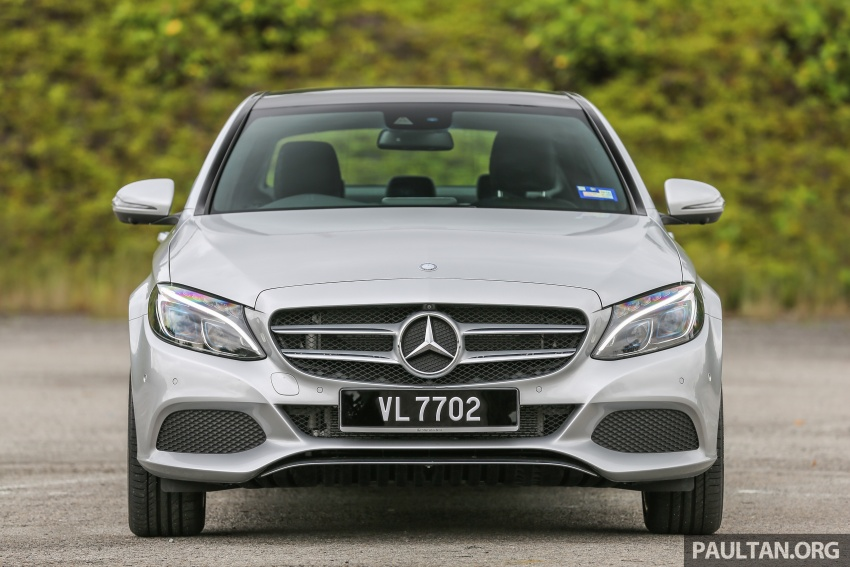 DRIVEN: W205 Mercedes-Benz C350e plug-in hybrid – going it clean and green in this electric machine Image #631955