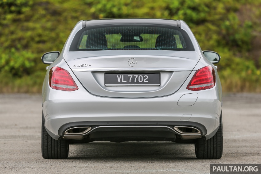 DRIVEN: W205 Mercedes-Benz C350e plug-in hybrid – going it clean and green in this electric machine Image #631953