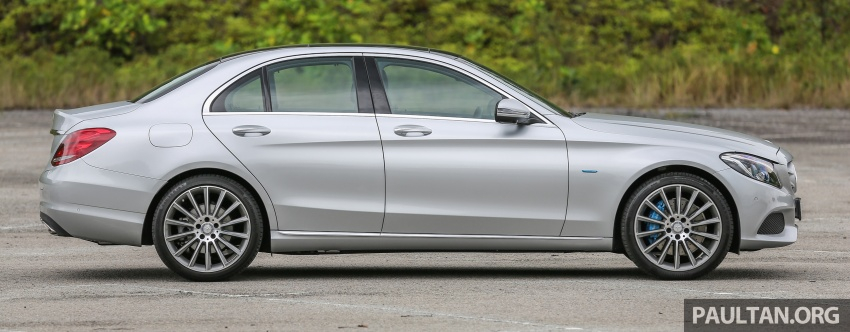 DRIVEN: W205 Mercedes-Benz C350e plug-in hybrid – going it clean and green in this electric machine Image #631952