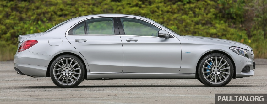 DRIVEN: W205 Mercedes-Benz C350e plug-in hybrid – going it clean and green in this electric machine Image #631951