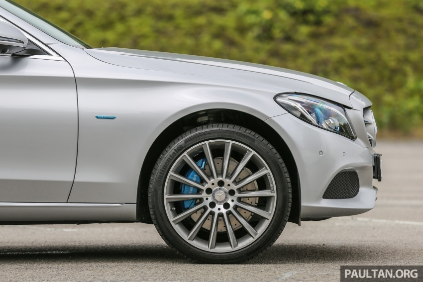 DRIVEN: W205 Mercedes-Benz C350e plug-in hybrid – going it clean and green in this electric machine Image #631950