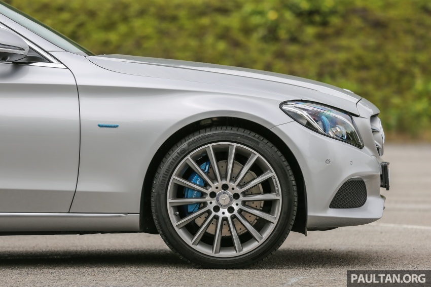 DRIVEN: W205 Mercedes-Benz C350e plug-in hybrid – going it clean and green in this electric machine Image #631949