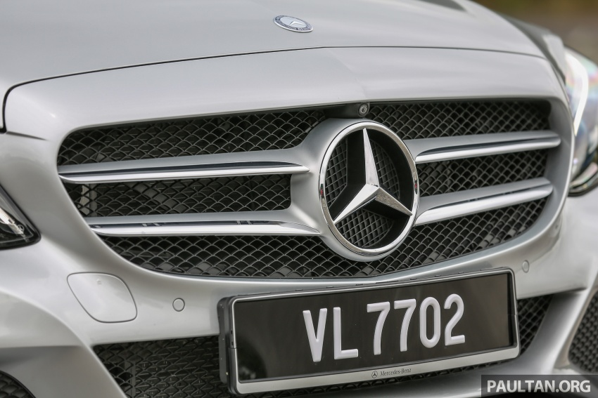 DRIVEN: W205 Mercedes-Benz C350e plug-in hybrid – going it clean and green in this electric machine Image #631943