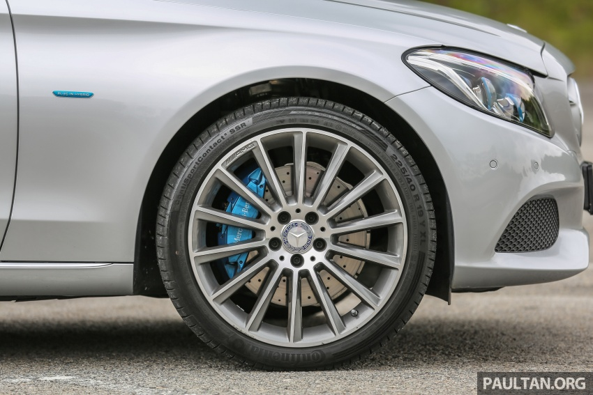 DRIVEN: W205 Mercedes-Benz C350e plug-in hybrid – going it clean and green in this electric machine Image #631941