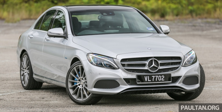 DRIVEN: W205 Mercedes-Benz C350e plug-in hybrid – going it clean and green in this electric machine Image #631962