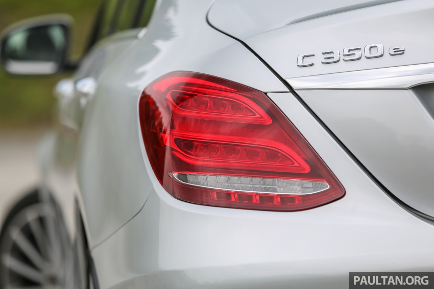 DRIVEN: W205 Mercedes-Benz C350e plug-in hybrid – going it clean and green in this electric machine Image #631931