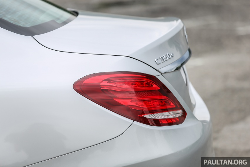 DRIVEN: W205 Mercedes-Benz C350e plug-in hybrid – going it clean and green in this electric machine Image #631930